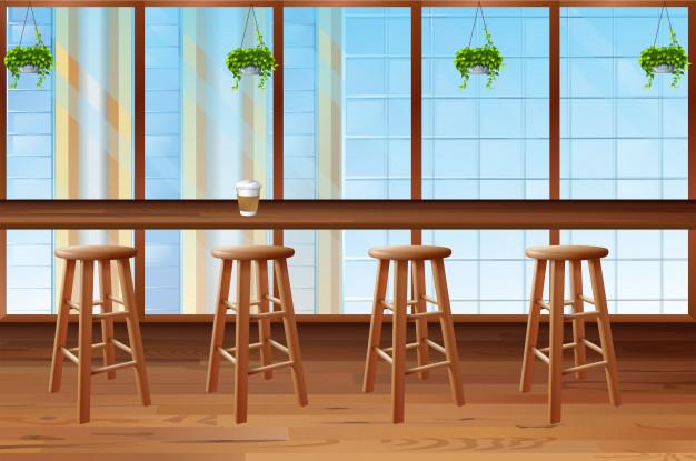 Barski stoli so boljša izbira kot klasični stol