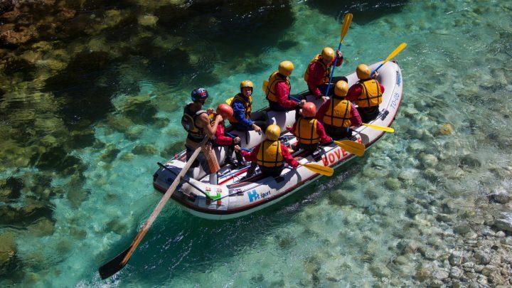 Bovec rafting v različnih paketih