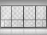 Steklena drsna vrata