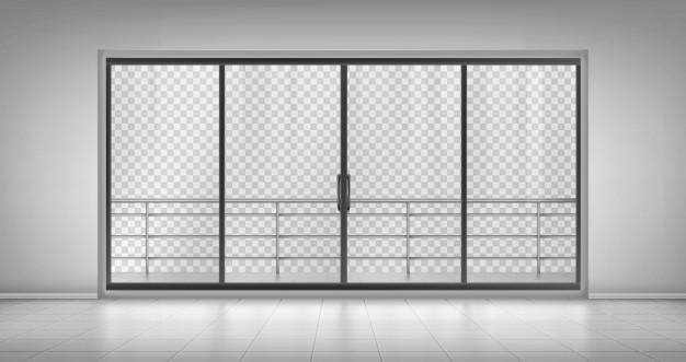 Steklena drsna vrata imajo velik potencial