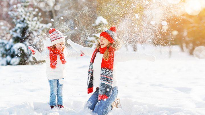 Zimske radosti vsakega otroka (in odraslega)!
