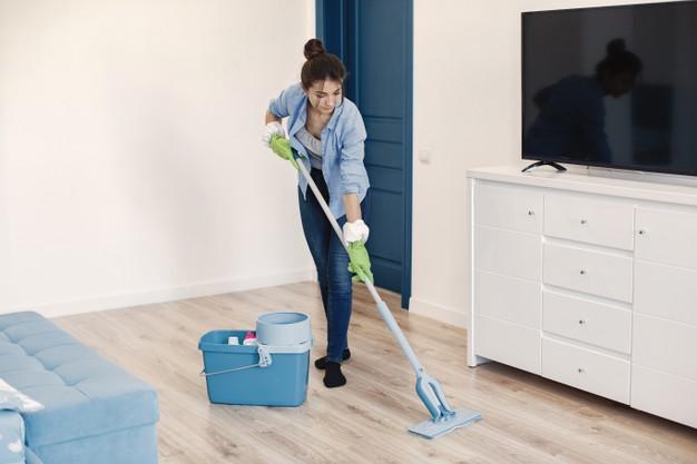 Naj vas čiščenje na domu osrečuje