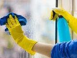 čiščenje steklenih površin
