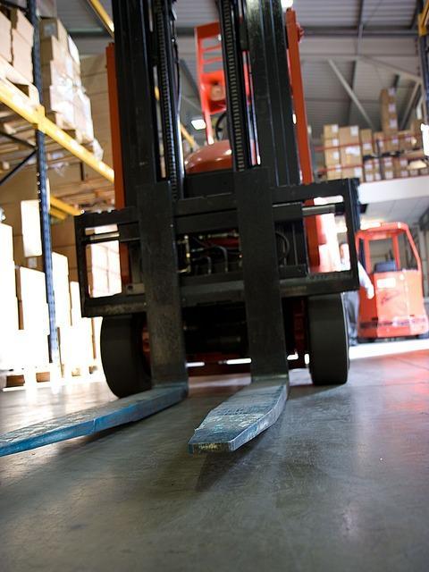Tudi rabljeni viličar je lahko povsem uporaben pri delu v skladišču