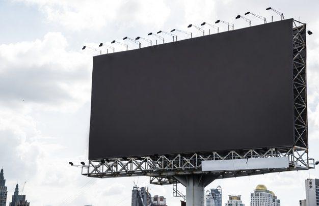 Postanite opaženi z reklamnimi tablami